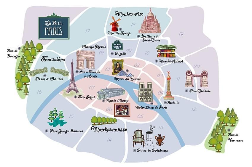 Schoolreis naar parijs frankrijk omnia travel for Lieux touristiques paris
