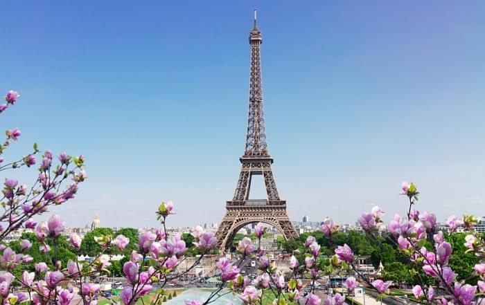 Schoolreis naar Parijs - Eiffel Toren