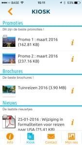 Omnia Travel App - Kiosk
