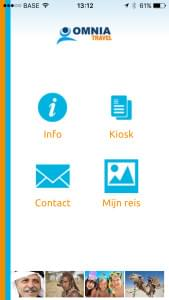 Ontdek onze Omnia Travel App
