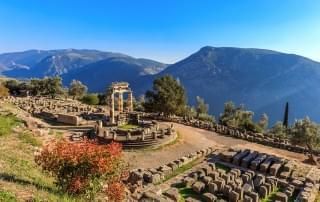 Klassieke rondreis Griekenland - Athena tempel Delphi