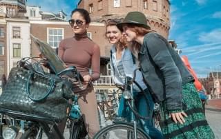 Schoolreis Amsterdam - Op de fiets