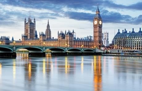 Schoolreis Londen - Big Ben en Houses of Parliament