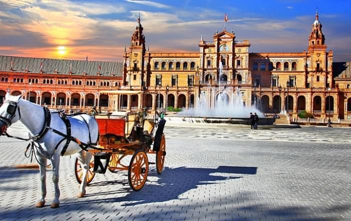 Schoolreis naar Malaga, Cordoba, Sevilla, Granada - Spanje