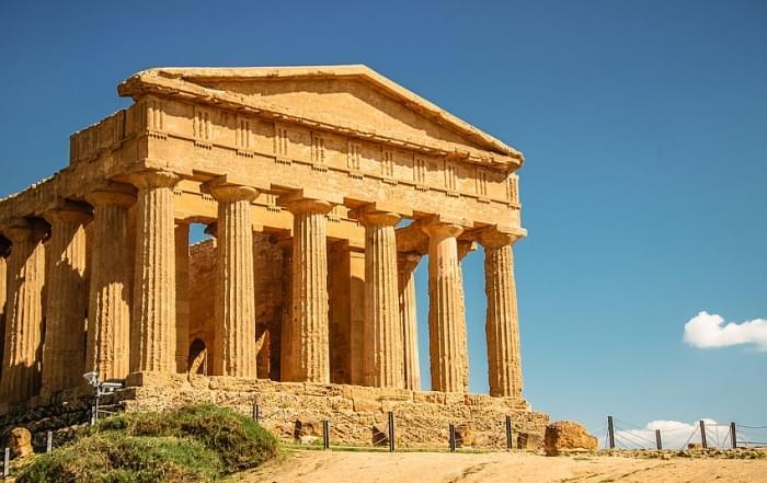 Schoolreis Sicilie - De Concordia tempel in Agrigento