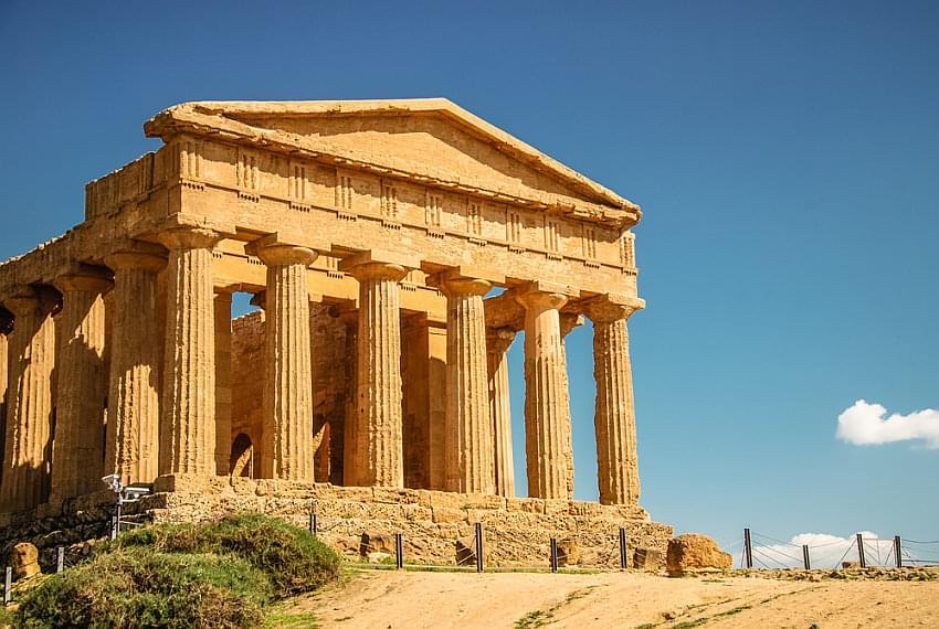Schoolreis Sicilië - De Concordia tempel in Agrigento
