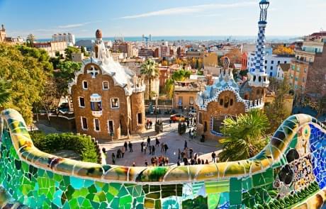 Schoolreis naar Barcelona - Park Güell