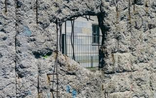 Schoolreis naar Berlijn - De Berlijnse muur