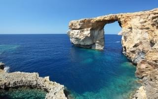 Schoolreis naar Malta - Azure Window