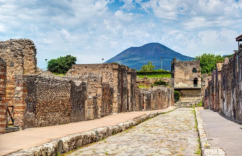 Schoolreis per bus naar Italië - de Kunststeden - Pompeii en Vesuvius