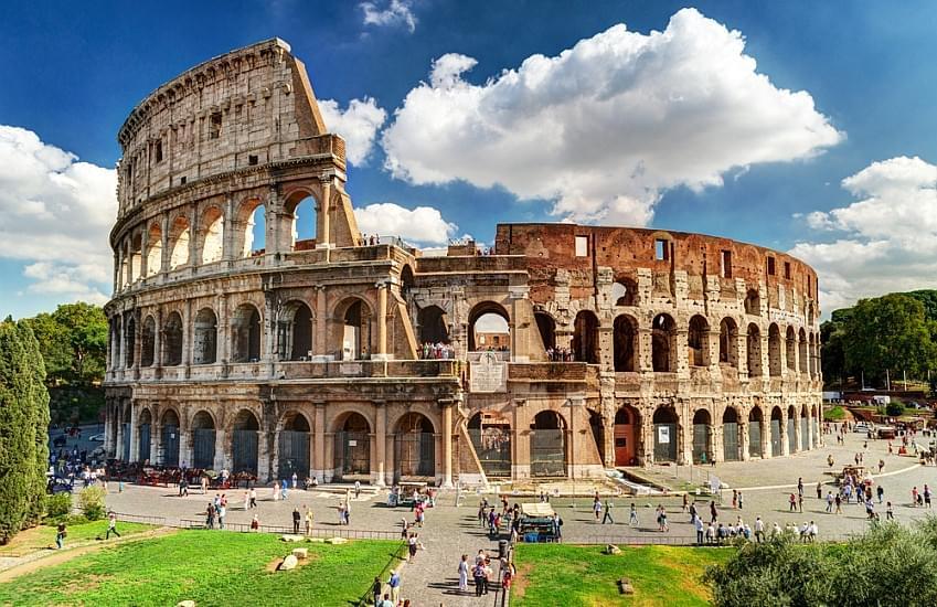 Schoolreis per bus naar Italië - de Kunststeden - Rome - Colosseum
