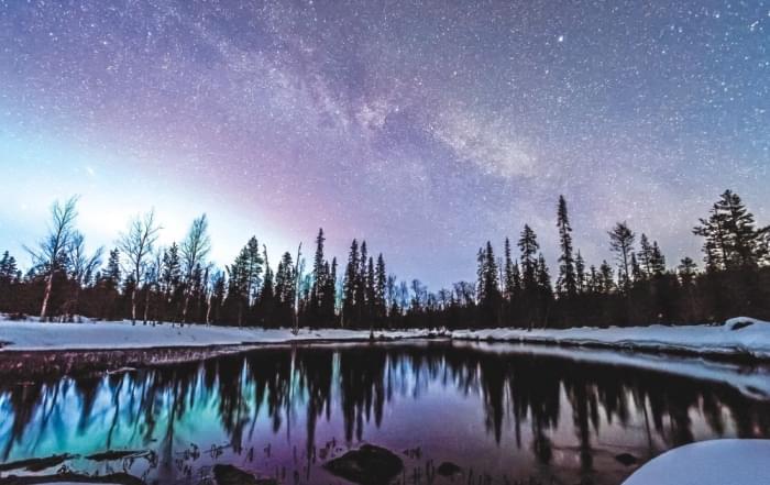 Fins lapland noorderlicht