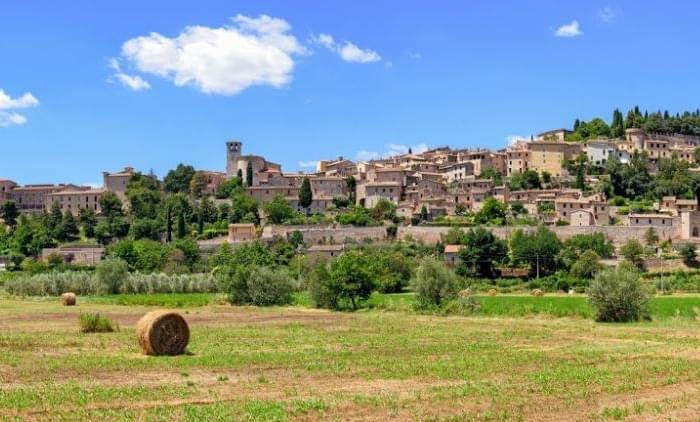 13 daagse staptocht van Rome naar Assisi