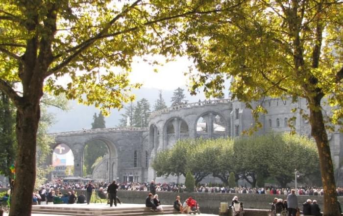 4 daagse vliegtuigreis naar Lourdes