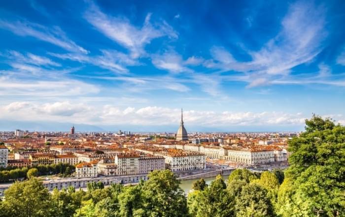 4 daagse vliegtuigreis naar Turijn
