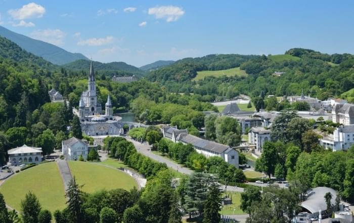 5 daagse vliegtuigreis naar Lourdes