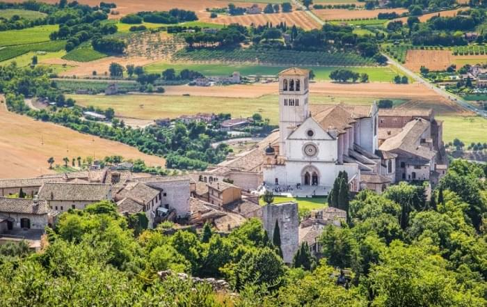 5 daagse vliegtuigreis naar Assisi
