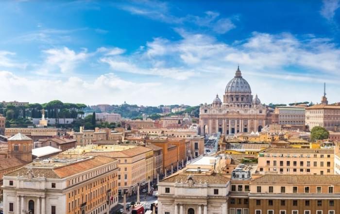 5 daagse vliegtuigreis naar Rome