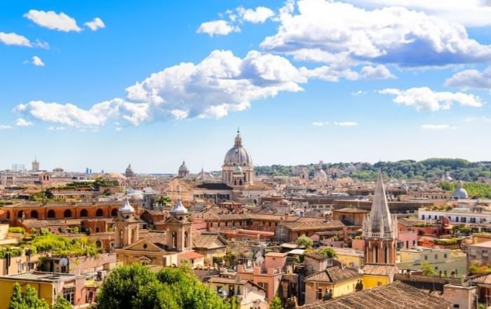 6 daagse vliegtuigreis naar Rome en Assisi