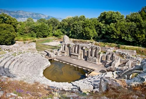 Schoolreis-Albanië-Amphitheater-Butrint