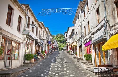 Schoolreis-Albanie-Gjirokasteron-UNESCO-werelderfgoed