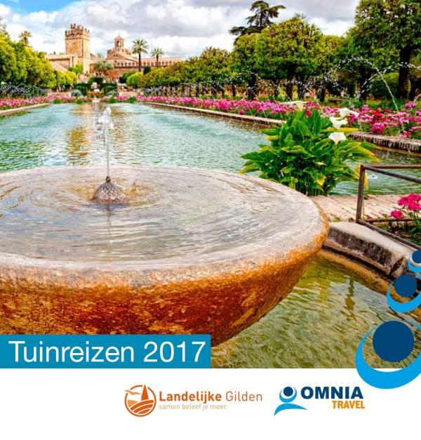 Brochure Tuinreizen 2017