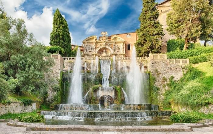 Tuinen en parken in en rond Rome