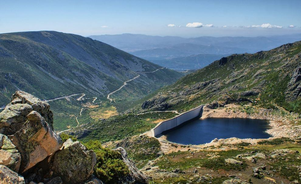Hoteltip Centraal Portugal - Dam Covao in Serra da Estrela