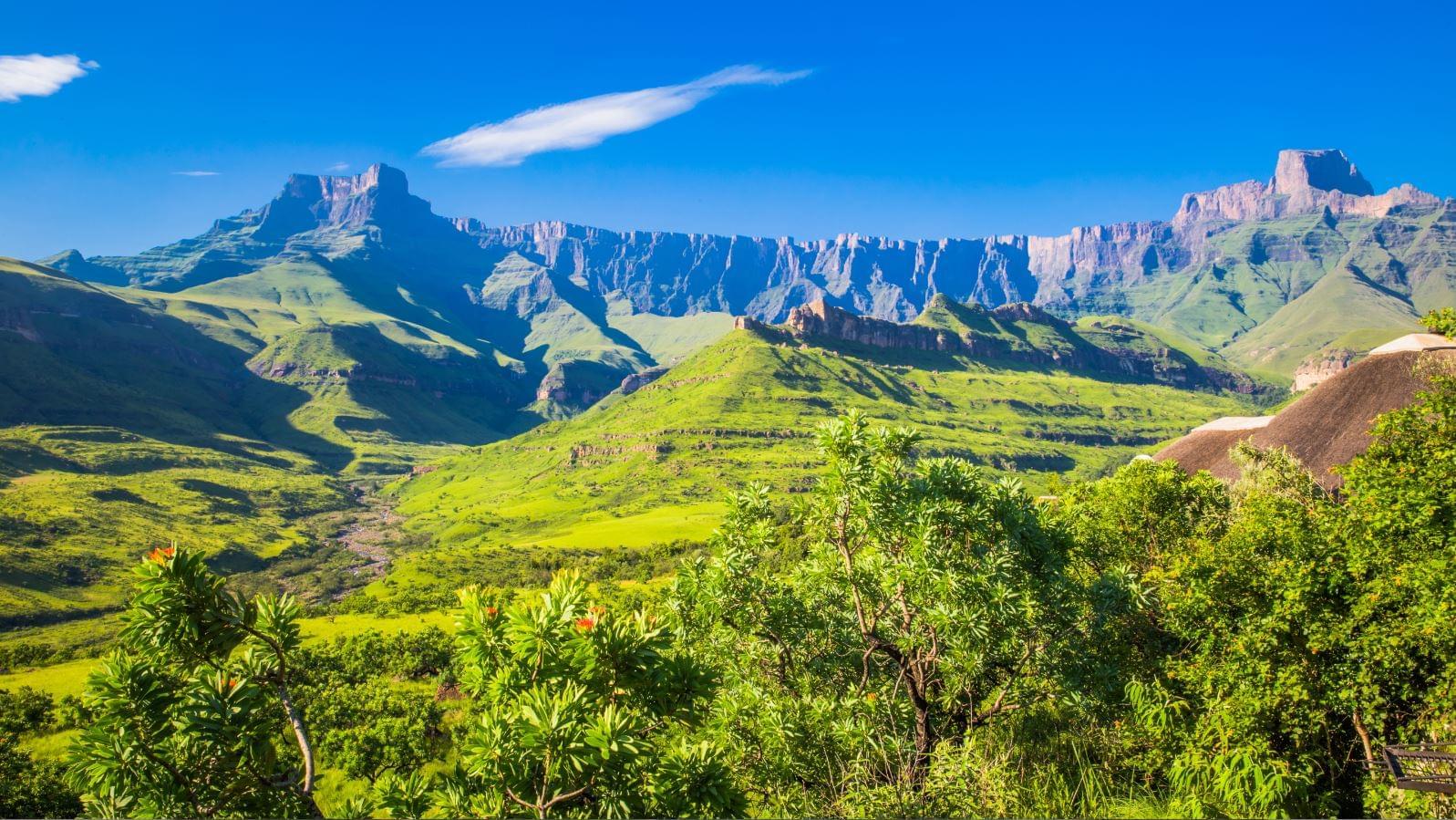 Nederlandstalige groepsreizen Zuid-Afrika: Drakensberg