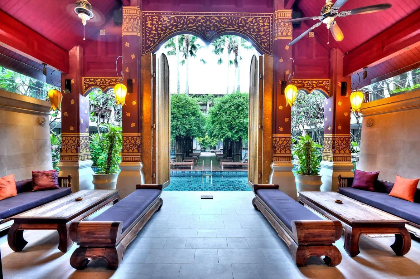 Lobby in Burasari Resort