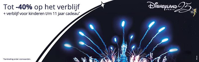 Disneyland Paris Vroegboekactie winter 2017-2018