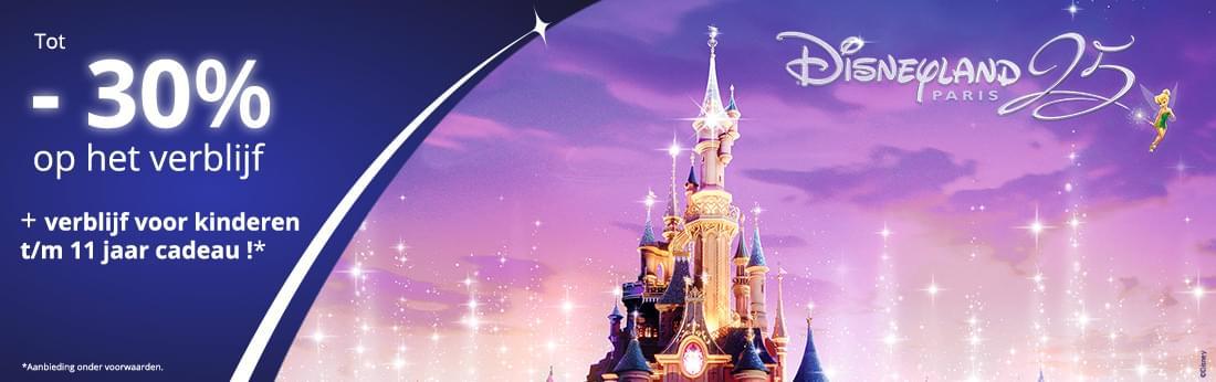 Disneyland Paris - Magische aanbieding zomer 2017 - copyright Disney