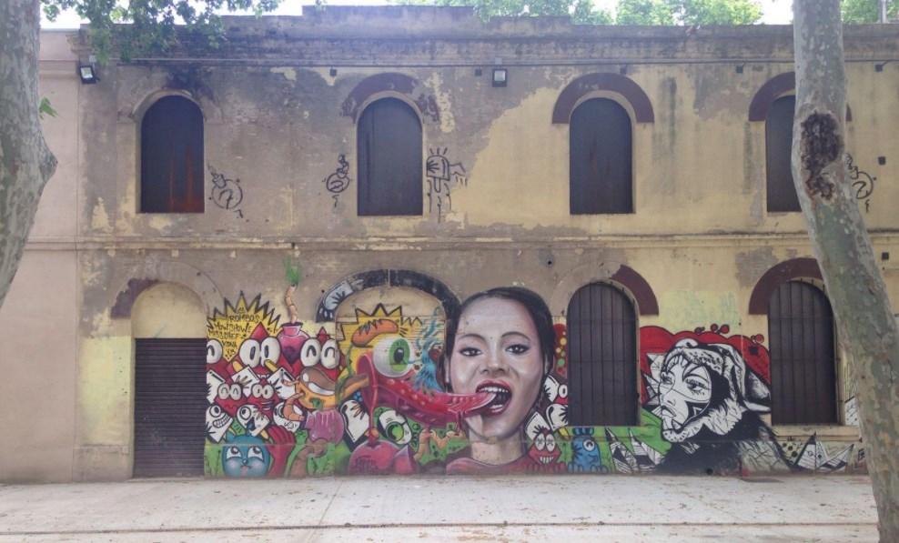 Spanje - Barcelona - Streetart