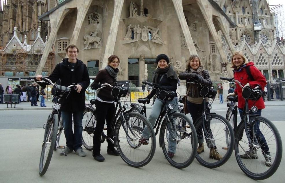 Spanje - Barcelona - per fiets