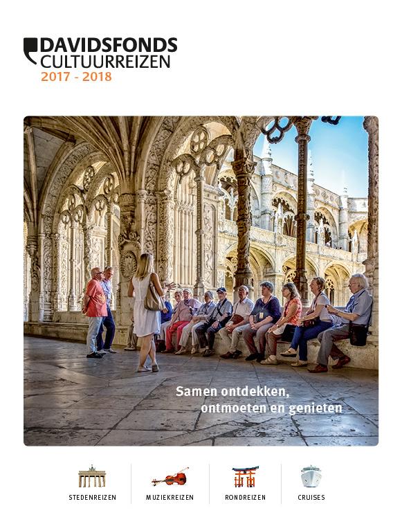 Brochure Davidsfonds Cultuurreizen 2017 2018