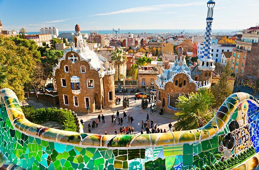 Studiereis Barcelona Parc Guell