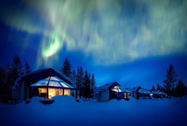4-daagse Lapland - het magische Noorden - Santas Igloos