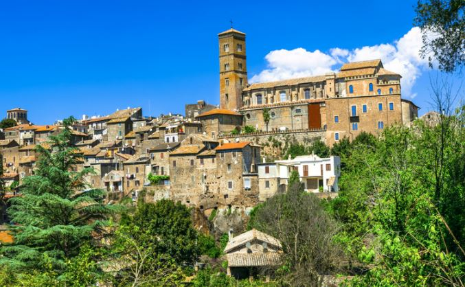 8 daagse staptocht van Viterbo naar Rome