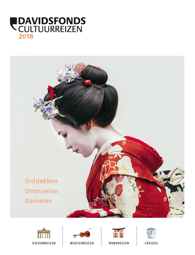 Brochure Davidsfonds Cultuurreizen 2018