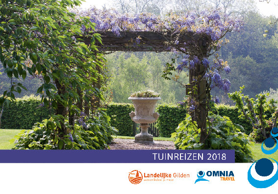 Brochure Tuinreizen 2018