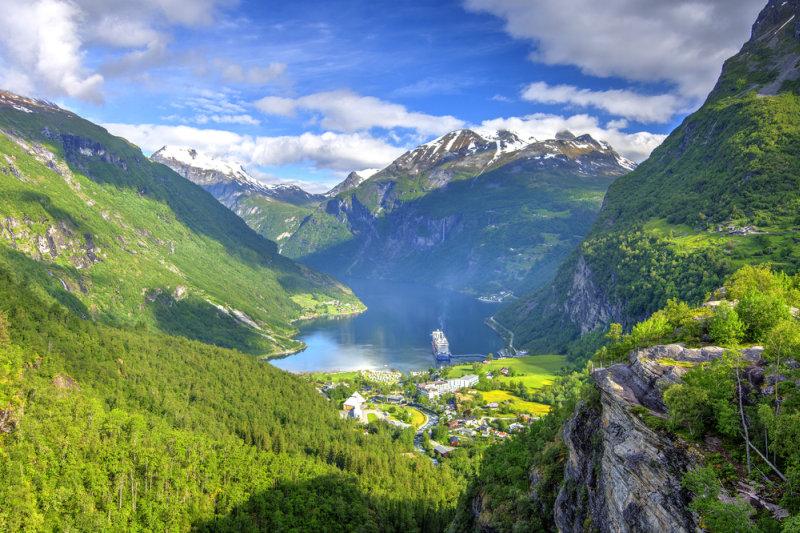 Op cruise naar de mooiste Noorse fjorden - Geiranger Fjord