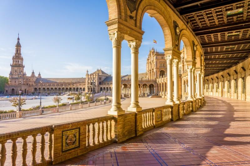 Rondreis Andalusië - Sevilla - Plaza de Espana