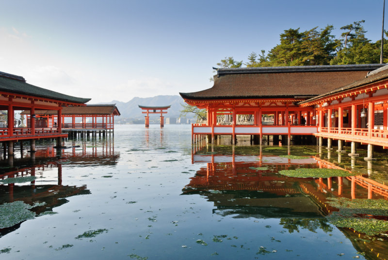 Rondreis Japan, het land van de Samurai - Itsukushima Shrine Miyajima