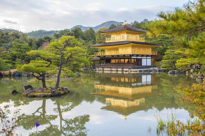 Rondreis Japan – Land van de torii en onsen - Kinkakuji Tempel Kyoto