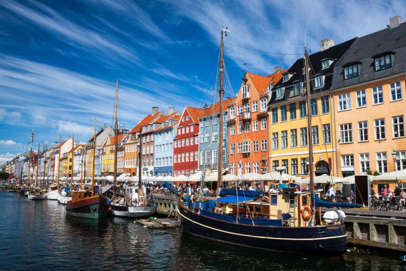 Cruise naar de Baltische Staten - Denemarken-Kopenhagen-Nyhavn