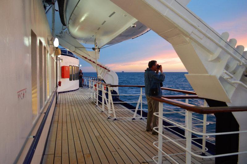 Cruise naar de Baltische Staten - MS Berlin aan boord