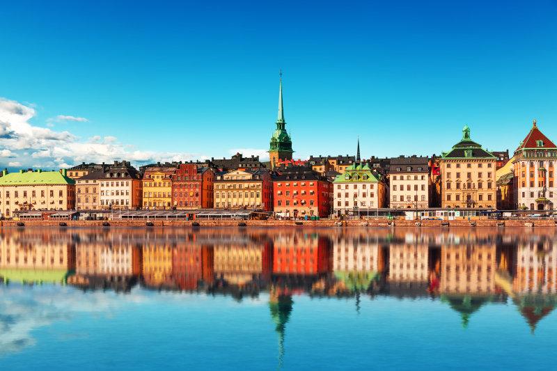 Cruise naar de Baltische Staten - Zweden-Stockholm-Gamla Stan