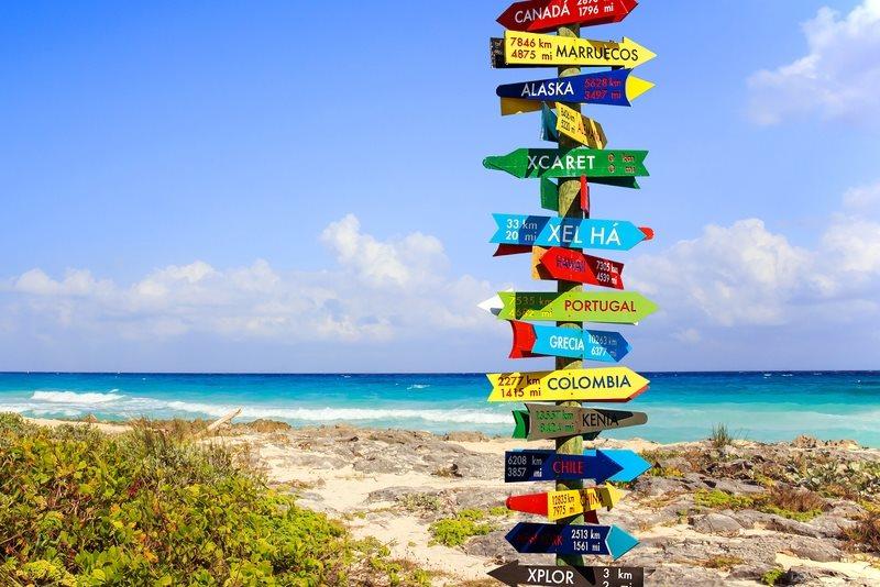 Onze populairste vakantiebestemmingen van 2017