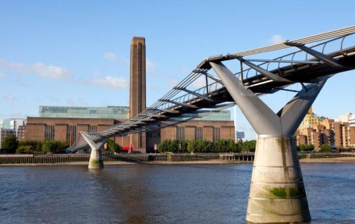 3-daagse citytrip Londen met tentoonstelling Picasso - Zicht op Tate Modern en de Thames