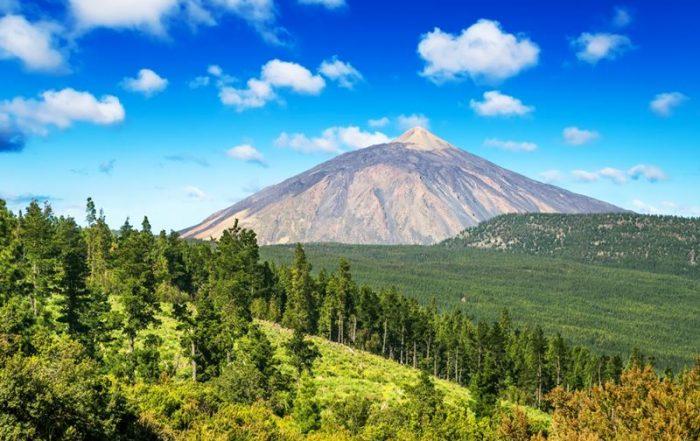 8-daags verblijf op Tenerife met kinderen - Zicht op Pico del Teide en het nationaal park